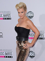 Jenny McCarthy at The 2012 American Music  Awards held at Nokia Theatre L.A. Live in Los Angeles, California on November 18,2012                                                                   Copyright 2012  Debbie VanStory / iPhotoLive.com