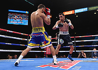 LAS VEGAS - NOVEMBER 23: Victor Slavinskyi v Rigoberto Hermosillo on the Fox Sports PBC Fight Night at the MGM Grand Garden Arena on November 23, 2019 in Las Vegas, Nevada. (Photo by Frank Micelotta/Fox Sports/PictureGroup)