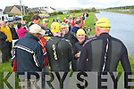 swimmers from the Tralee swimming club who took part in the Blennerville to the Basin in Tralee on Tuesday evening.