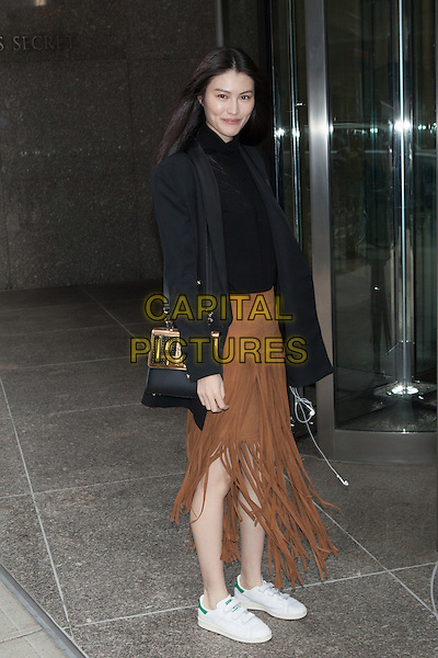 NEW YORK, NY - NOVEMBER 6: Sui He seen  in New York City on November 5, 2015. <br /> CAP/MPI/DC<br /> &copy;DC/MPI/Capital Pictures