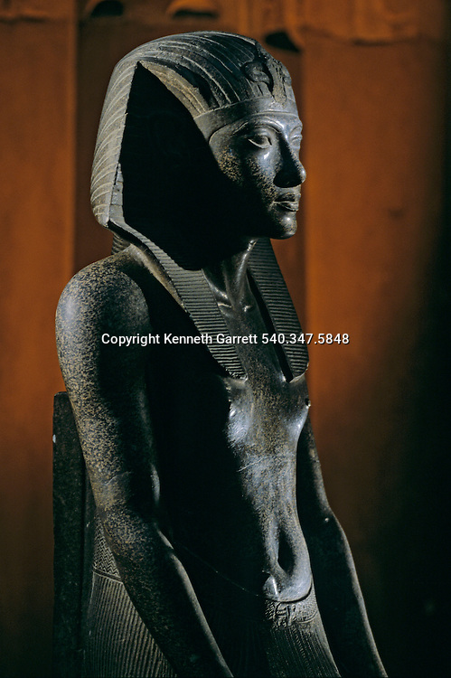Granite statue of Tutankhamun,Tutankhamun and the Golden Age of the Pharaohs, Page 222