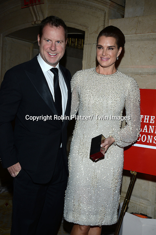 Brooke Shields and husband Chris Henchy attends the New York Landmarks Consevancy's 20th Annual Living Landmarks Celebration on November 14, 2013 at the Plaza Hotel in New York City.