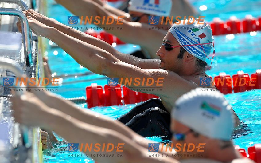 Roma 1st August 2009 - 13th Fina World Championships .From 17th to 2nd August 2009.Men's 50 m Breaststroke.Enrico CATALANO (ITA).Roma2009.com/InsideFoto/SeaSee.com . .Foto Andrea Staccioli Insidefoto
