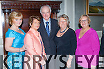 Catherine McMahon, Pauline Lyne, Andrew and Lillian McCarthy and Sheila Casey at the SKAL Presidents dinner in the Malton Hotel on Saturday night