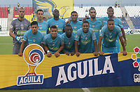 MONTERÍA - COLOMBIA ,31-08-2019: Formación  de Jaguares de Córdoba ante Patriotas Boyacá durante partido por la fecha 9 de la Liga Águila II 2019 jugado en el estadio Municipal Jaraguay de Montería . / Team of Jaguares of Cordoba agaisnt of Patriotas Boyaca  during the match for the date 9 of the Liga Aguila II 2019 played at Municipal Jaraguay Satdium in Monteria City . Photo: VizzorImage / Contribuidor.