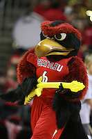 Feb 22, 2011:  Seattle University mascot Rudy pumped the crowed up during a timeout against Washington.  Washington defeated Seattle University 95-74 at Key Arena in Seattle, Washington..