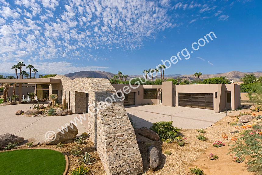 Ultra Modern Stone House