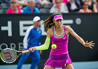 Netherlands, Rosmalen , June 08, 2015, Tennis, Topshelf Open, Autotron, Oceane Dodin (FRA)<br /> Photo: Tennisimages/Henk Koster