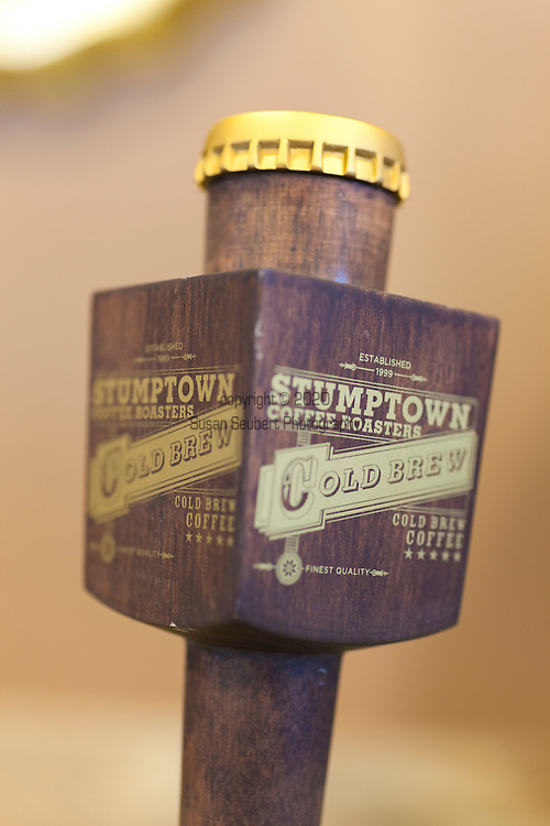 Broadway Coffeehouse in Salem, Oregon.   The Stumptown Cold Brew Taps