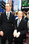 the wedding of We Love Soaps Roger Newcomb and Kevin Mulcahy Jr and rings on August 18 2012 in Times Square, New York City, New York. (Photos by Sue Coflin/Max Photos)