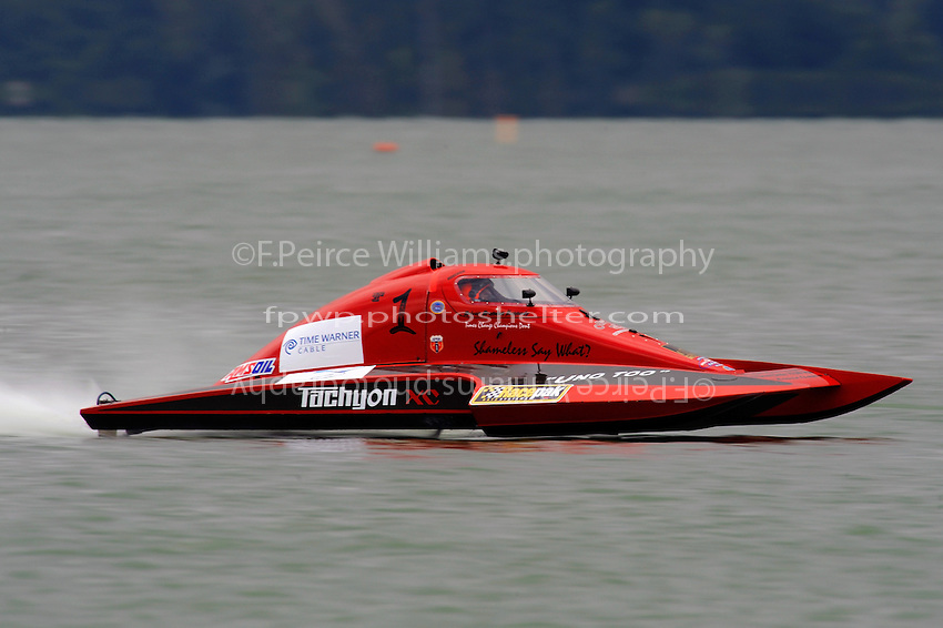 "Brandon Kennedy, T-1 ""Shameless Say What?"", 1 Litre Stock hydroplane"