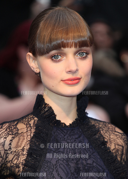 Bella Heathcote arriving for the European Premiere of 'Dark Shadows' at Empire Leicester Square, London. 09/05/2012 Picture by: Alexandra Glen / Featureflash