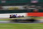 13.07.2019, Silverstone Circuit, Silverstone, FORMULA 1 ROLEX BRITISH GRAND PRIX 2019<br /> , im Bild<br />Sergio Perez (MEX#11), Sportpesa Racing Point F1 Team, Nico Hülkenberg (GER#27), Renault F1 Team<br /> <br /> Foto © nordphoto / Bratic