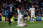Real Madrid's Nacho Fernandez during La Liga match between Real Madrid and SD Huesca at Santiago Bernabeu Stadium in Madrid, Spain. March 31, 2019. (ALTERPHOTOS/A. Perez Meca)