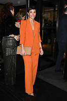 LONDON, UK. March 12, 2019: Frankie Bridge arriving for the TRIC Awards 2019 at the Grosvenor House Hotel, London.<br /> Picture: Steve Vas/Featureflash