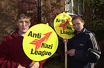 Anti Nazi supporters.<br />