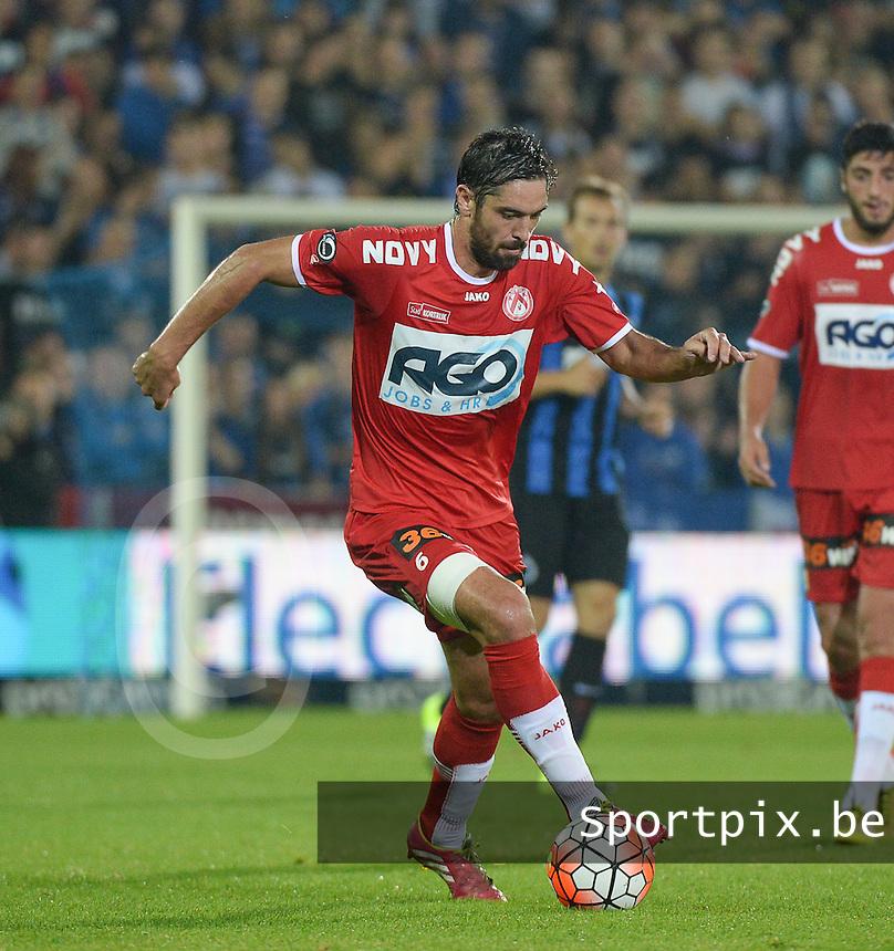 Club Brugge - KV Kortrijk : Benoit Poulain <br /> Foto VDB / Bart Vandenbroucke