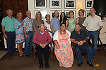 Martina McKenna celebrating her 50th birthday in the Glenside hotel with family and friends. Photo:Colin Bell/pressphotos.ie