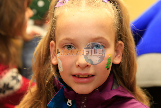 Katie O'reilly at the Winter Wonderland for kids in the Resource Centre in Moneymore.<br /> Picture www.newsfile.ie
