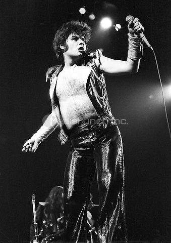 Gary Glitter performing in 1973. Credit: Ian Dickson/MediaPunch