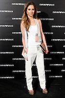 Ana Fernandez attends the Emporio Armani Boutique opening at Serrano street in Madrid, Spain. April 08, 2013. (ALTERPHOTOS/Caro Marin) /NortePhoto