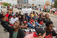 Minimum Wage Fast Food Strike in Durham for MSNBC.com