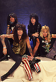 Aug 1989: MOTLEY CRUE - Photosession in London