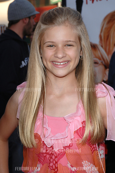 Actress JENNA BOYD at the world premiere of The Perfect Man, at Universal Studios, Hollywood..June 12, 2005 Los Angeles, CA.© 2005 Paul Smith / Featureflash