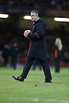 Wales coach Rob Howley.<br /> RBS 6 Nations 2014<br /> Wales v Italy<br /> Millennium Stadium<br /> 01.02.14<br /> <br /> ©Steve Pope-SPORTINGWALES