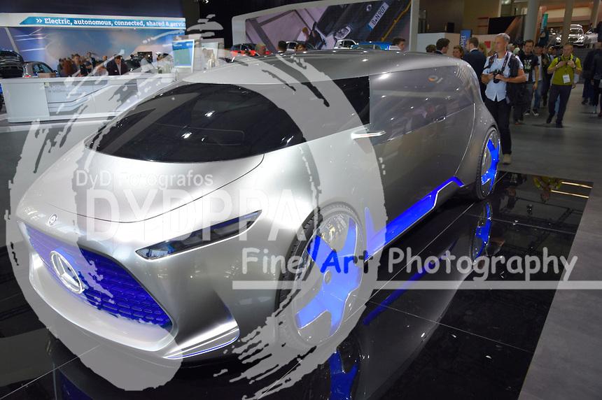 Mercedes Vision Tokyo auf der Internationalen Automobil-Ausstellung 2017 auf dem Messegelände. Frankfurt am Main, 12.09.2017