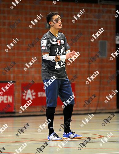2013-09-20 / Futsal / seizoen 2013-2014 / Antwerpen / Bilal Zemmouri<br /><br />Foto: Mpics.be