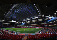 August 03, 2012 - Cardiff England - United Kingdom - A view of the Millennium Stadium before Group F match between JPN and BRA in Cardiff.