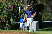 Brad Kennedy (AUS) in action on the 1st during Round 2 Matchplay of the ISPS Handa World Super 6 Perth at Lake Karrinyup Country Club on the Sunday 11th February 2018.<br /> Picture:  Thos Caffrey / www.golffile.ie<br /> <br /> All photo usage must carry mandatory copyright credit (&copy; Golffile   Thos Caffrey)