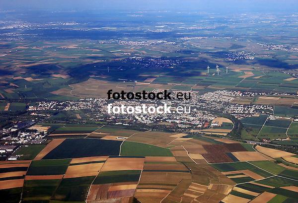 Luftaufnahme von Nieder-Olm in Rheinhessen<br /> <br /> aerial view of Nieder-Olm in Rheinhessen
