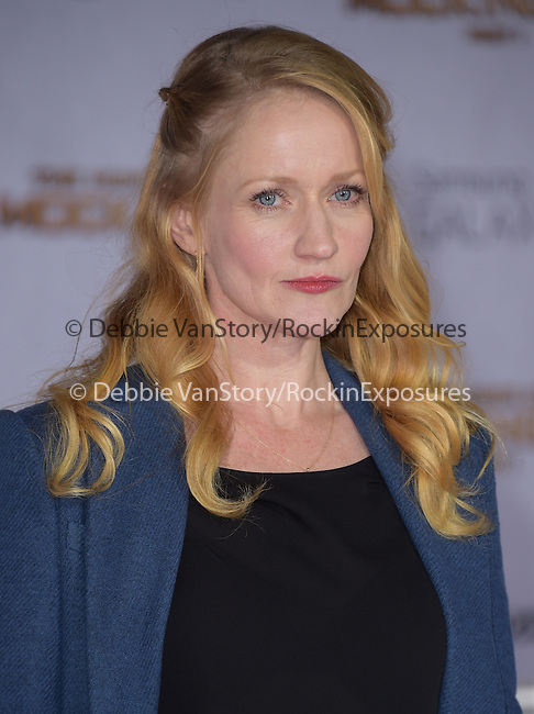 Paula Malcomson at The  Los Angeles Premiere of The Hunger Games: Mockingjay - Part 1 held at  Nokia Theatre L.A. Live in Los Angeles, California on November 17,2014                                                                               © 2014 Hollywood Press Agency