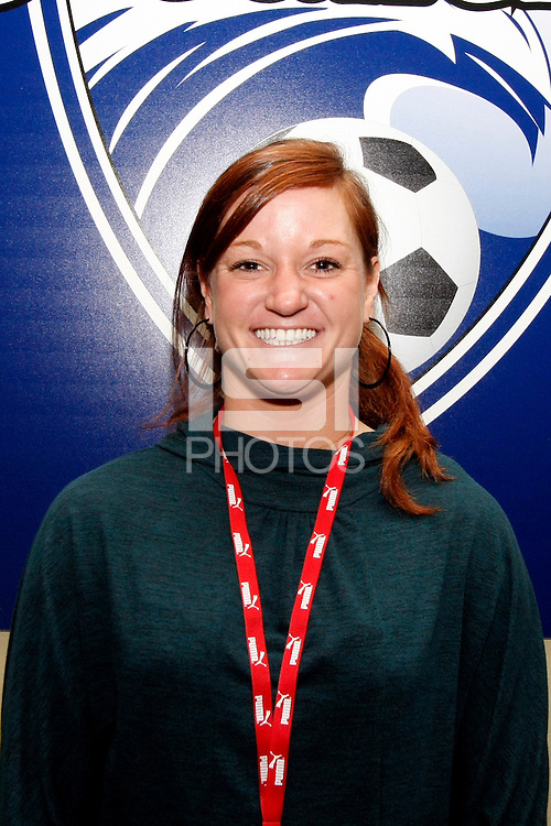 Jenny Nobis-Boston Breakers.WPS draft 2009-St Louis Convention and Visitors Center, St Louis, MO January 16 2006