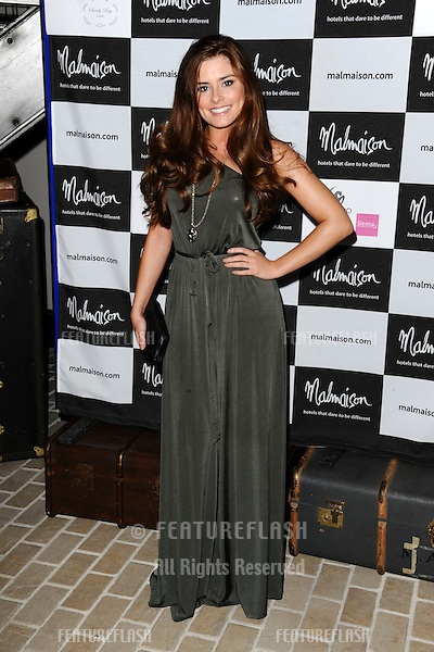 Rachel Shenton arrives for the Malmaison Hotel Liverpool re-opening party...23/09/2011  Picture by Steve Vas/Featureflash
