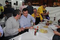SAO PAULO, SP, 26 DE MAIO DE 2012 - XVII MAIFEST - O prefeito Gilberto Kassab conversa com Ronaldo Camargo, durante o XIII Maifest - Cultura pela Paz, no bairro de Santo Amaro região sul da capital paulista, neste sabado, 26. (FOTO: MILENE CARDOSO / BRAZIL PHOTO PRESS).<br /> ..