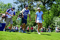 Lexi Thompson (USA) departs the first tee during Sunday's final round of the 2017 KPMG Women's PGA Championship, at Olympia Fields Country Club, Olympia Fields, Illinois. 7/2/2017.<br /> Picture: Golffile | Ken Murray<br /> <br /> <br /> All photo usage must carry mandatory copyright credit (&copy; Golffile | Ken Murray)
