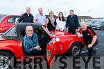 Vintage Run : Pictured at the start of the Ballybunion Health & Leisure Vintage & Classic car on Sunday last were in front Denis Leahy & John O'Sullivan. Back : Sean Rohan, Tim & Breda Browne, Claaire Fitzmaurice & Loe Finnucane.