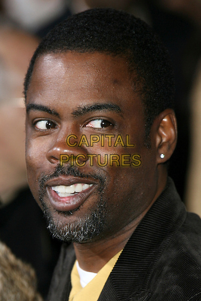 "CHRIS ROCK.""The Seat Filler"" Hollywood Premiere - Arrivals held at El Capitan Theatre, Hollywood, California, USA..February 22nd, 2006.Photo: Zach Lipp/AdMedia/Capital Pictures.Ref: ZL/ADM.headshot portrait goatee facial hair.www.capitalpictures.com.sales@capitalpictures.com.© Capital Pictures."