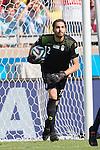 Alireza Haghighi (IRI), JUNE 21, 2014 - Football / Soccer : FIFA World Cup Brazil 2014 Group F match between Argentina 1-0 Iran at Estadio Mineirao in Belo Horizonte, Brazil. (Photo by Maurizio Borsari/AFLO)