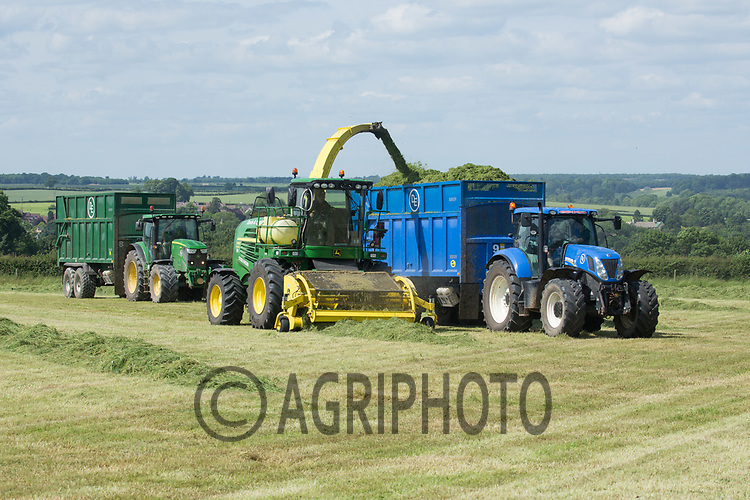 Contractors take the first cut of silage for a suckler cow herd <br /> Picture Tim Scrivener 07850 303986<br /> &hellip;.covering agriculture in the UK&hellip;.