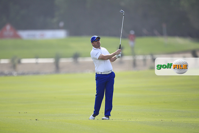 Richie Ramsey (SCO) on the 5th fairway during Round 4 of the Abu Dhabi HSBC Championship on Sunday 22nd January 2017.<br /> Picture:  Thos Caffrey / Golffile<br /> <br /> All photo usage must carry mandatory copyright credit     (&copy; Golffile | Thos Caffrey)