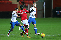 Naby Sarr of Charlton Athletic in action during Charlton Athletic vs Portsmouth, Checkatrade Trophy Football at The Valley on 7th November 2017