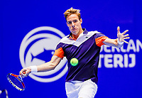 Rotterdam, Netherlands, December 12, 2017, Topsportcentrum, Ned. Loterij NK Tennis, Scott Griekspoor (NED)<br /> Photo: Tennisimages/Henk Koster