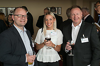 From left are Terry Ellis of H22 Solutions with Katie Sutton and Andy Middleton both from Ginger Root