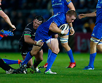 4th January 2020; RDS Arena, Dublin, Leinster, Ireland; Guinness Pro 14 Rugby, Leinster versus Connacht; Sean Cronin of Leinster tries to break away from Denis Buckley of Connacht tackle  - Editorial Use