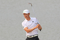 Li Haotong (CHN) in action during the final round of the Volvo China Open played at Topwin Golf and Country Club, Huairou, Beijing, China 26-29 April 2018.<br /> 29/04/2018.<br /> Picture: Golffile | Phil Inglis<br /> <br /> <br /> All photo usage must carry mandatory copyright credit (&copy; Golffile | Phil Inglis)