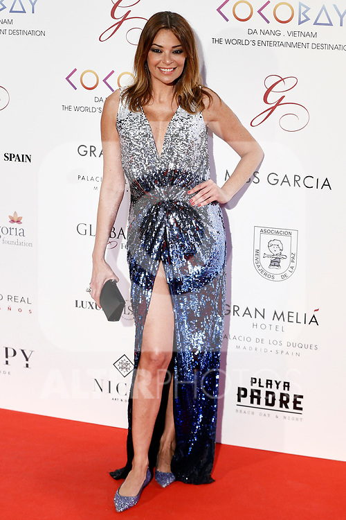 Lucia Hoyos attends the photocall of the second Global Gift gala at the Royal Theater in Madrid, Spain. April 04, 2017. (ALTERPHOTOS / Rodrigo Jimenez)